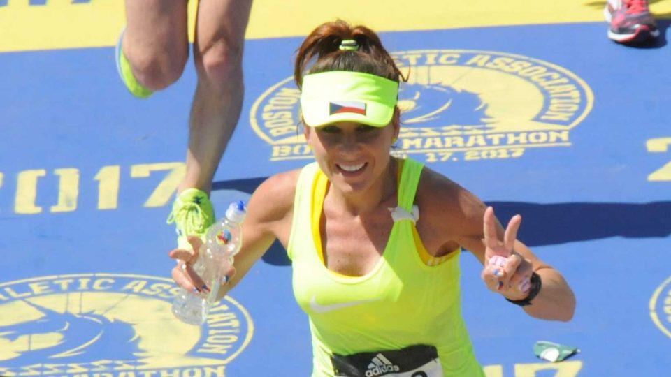Česká amatérská maratonská hvězda Lenka Kubková
