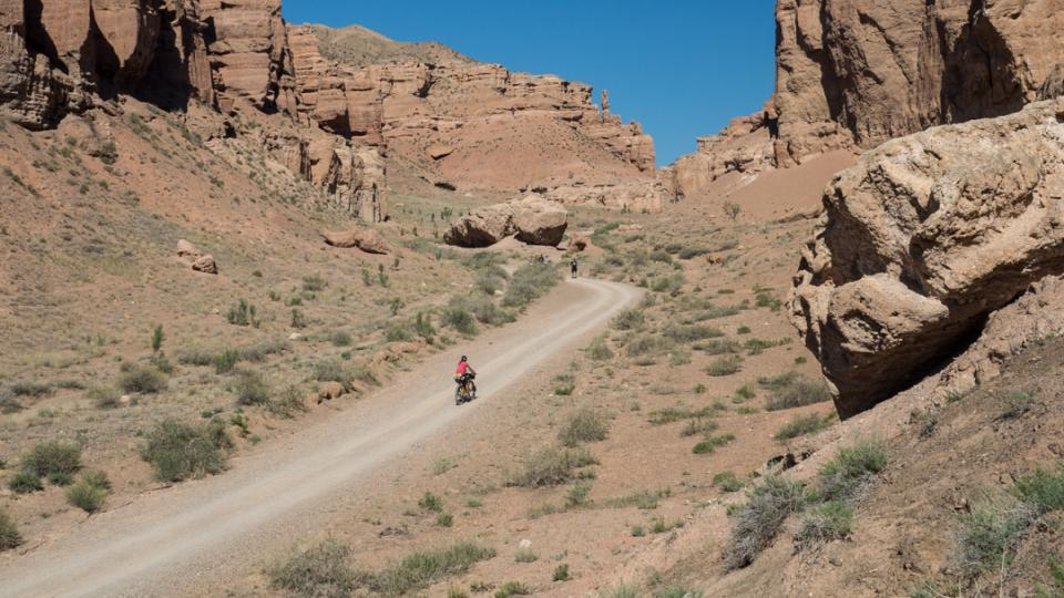 Sharyn Canyon. Kazachstán