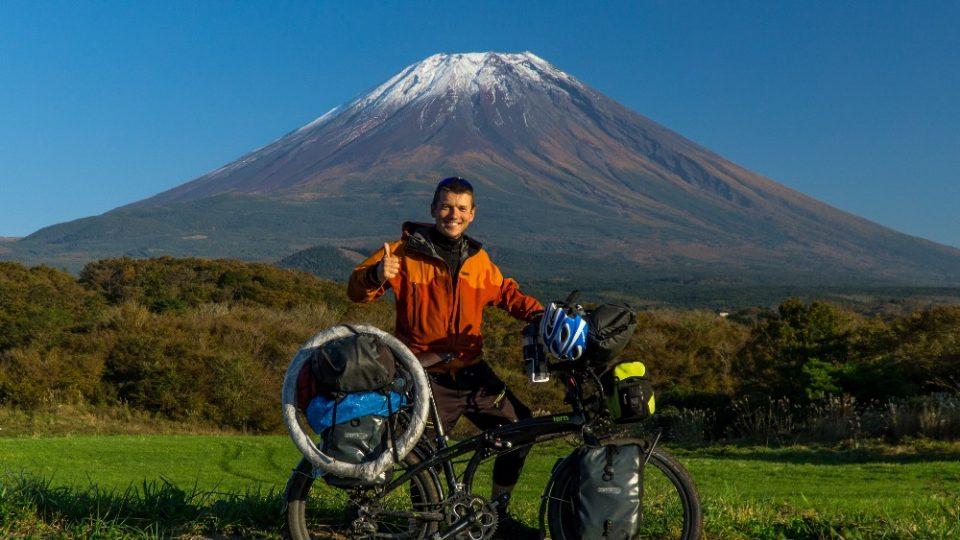 Marek Balicki aka Záchranář na cestách před Fuji