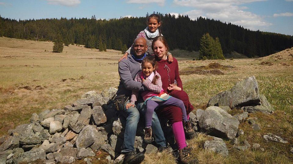 Život Mezi Jeleny, lamami a koňmi v Krušných horách