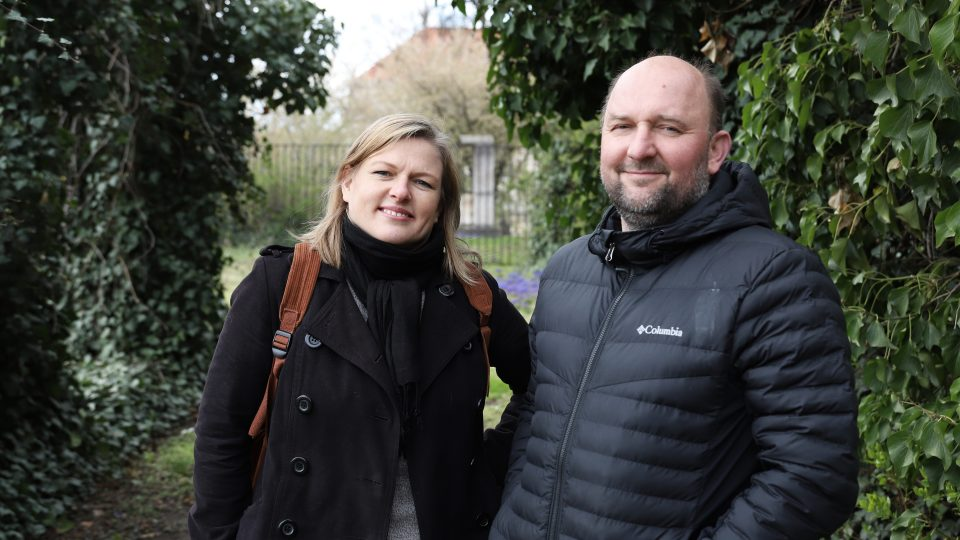 Zuzana Štemberová a Antonín Wagner