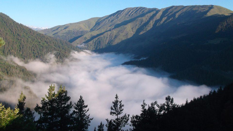 Krásné, zapadlé a Čechy milované je Thušsko, horský region na severovýchodě Gruzie