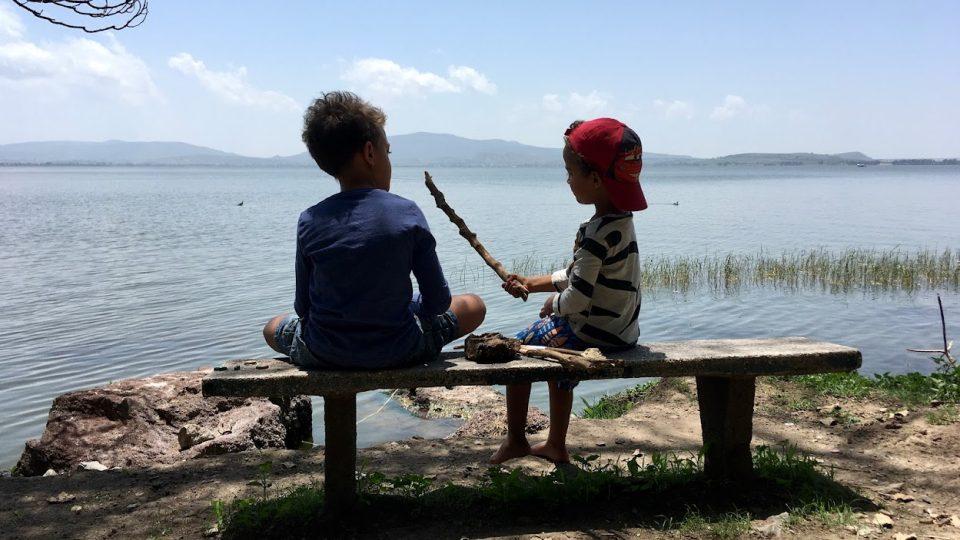Tady jsme doma u Hawaskeho jezera