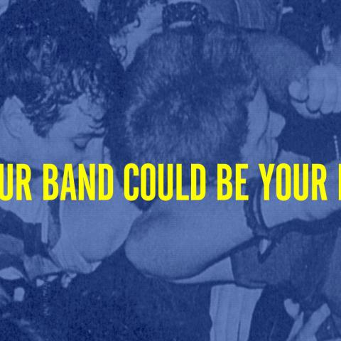 Výřez z obálky knihy Michaela Azzerada Our Band Could Be Your Life: Scenes from American Indie Underground 1981-1991