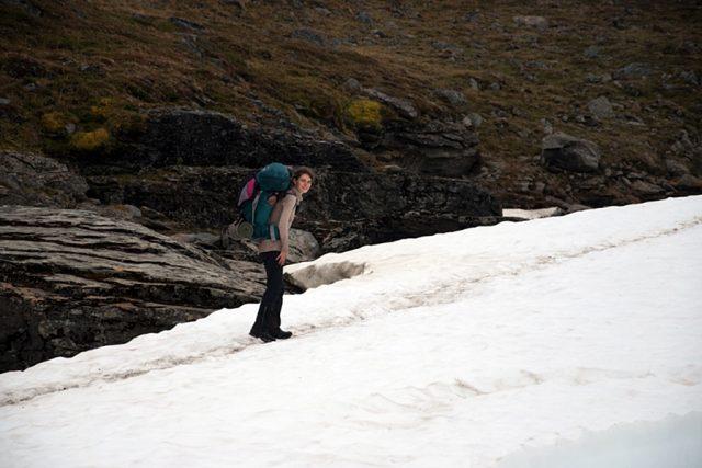 Markéta Dobešová se vydala na švédský trek Kungsleden