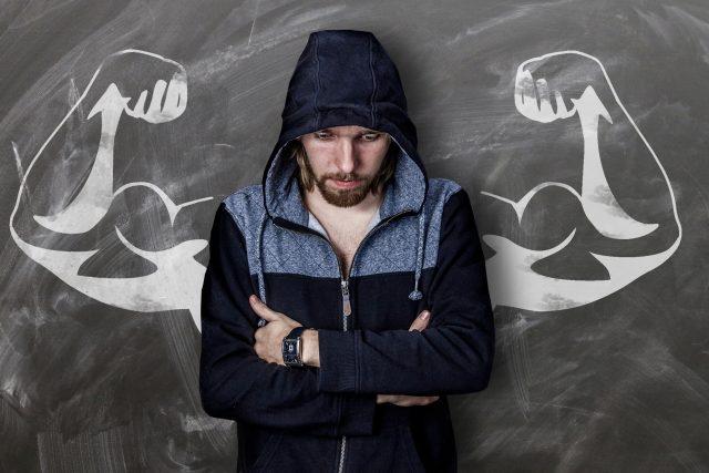 muž - strach - úzkost