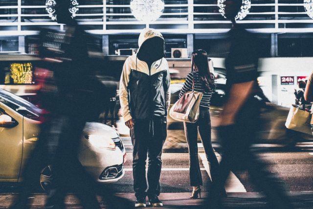 Ulice - samota - úzkost