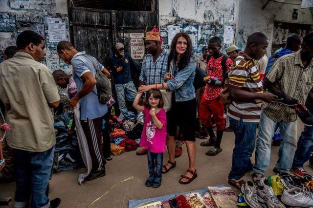 Jak se cestuje bílé matce a pětileté dceři po Africe?