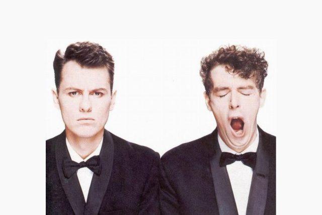 Pet Shop Boys na obalu desky Actually