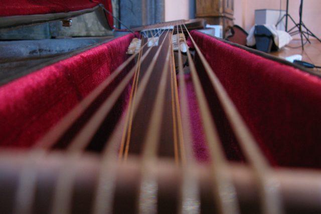 Hudební nástroje Miloslava Študenta | foto: Adriana Krobová
