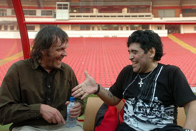 Z filmu: Maradona režie Kusturica