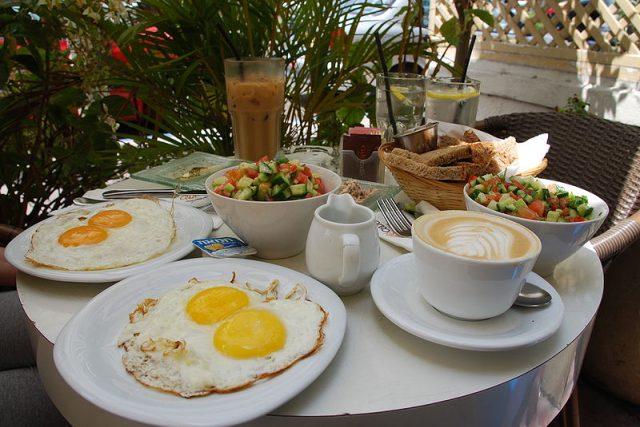 Izraelská snídaně