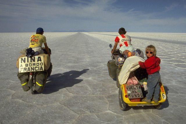Z cyklocesty manželů Hervéových: Bolívie