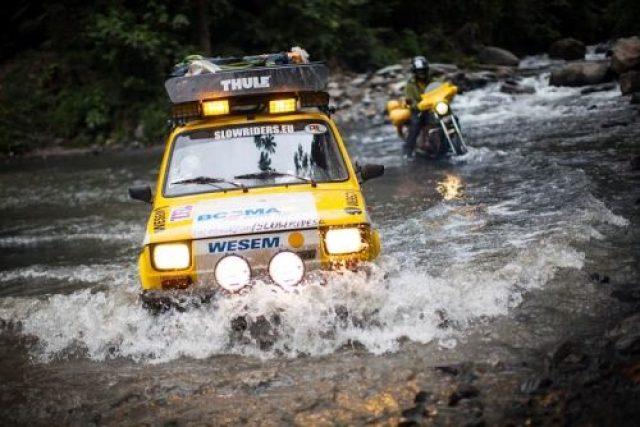 Žluté Trabanty projely Jižní Amerikou