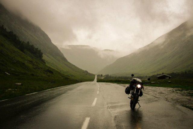 Cesta motorkářky Dominiky Gawliczkové po Skandinávii