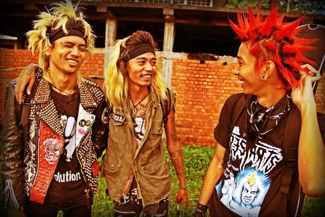 Barma žije v radostné nejistotě: kapela The Rebel Riot