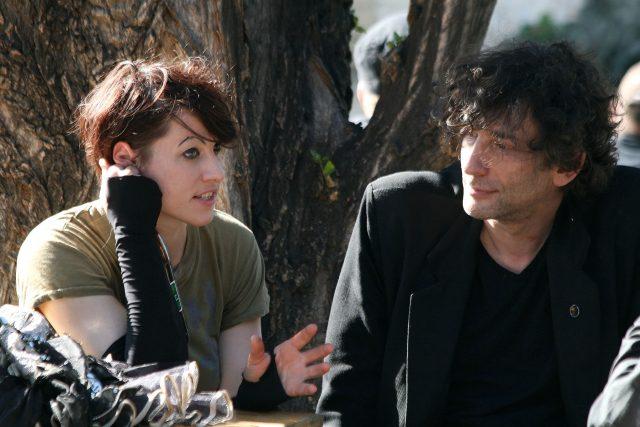 Neil Gaiman a Amanda Palmer ve Vídni