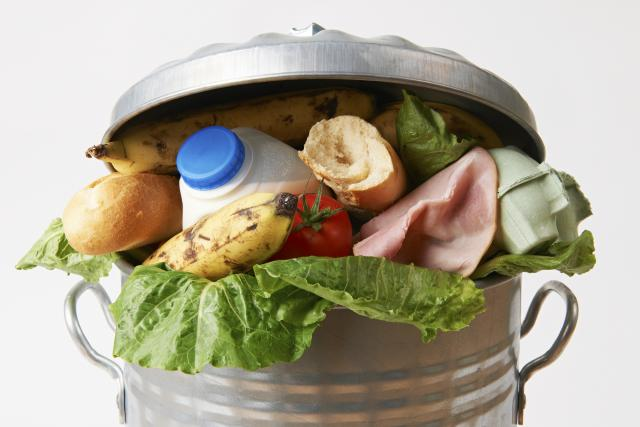 Plýtvání potravinami - plýtvání - vyhozené jídlo