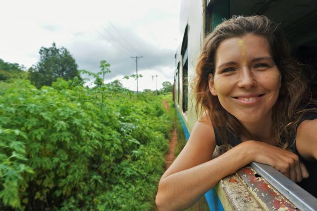 Michaela Bugrisová alias BackPackLady cestovala 6 měsíců po Asii, zde fotografie z Barmy