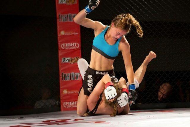 Magdalena Šormová a AMA Fight Club – 60kg X Sandra Danisova (Slovensko)