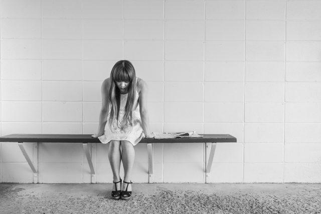 deprese - smutek - úzkost