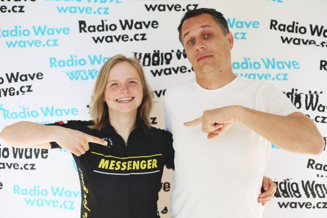 Markéta Peggy Marvanová a Pavel Sladký