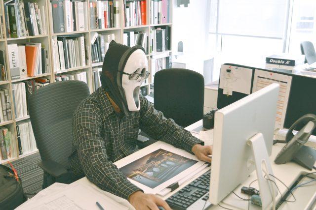 Kancelář – práce – v kanceláři – frustrující práce