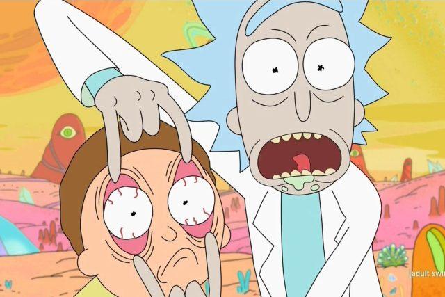 Ze seriálu Rick a Morty