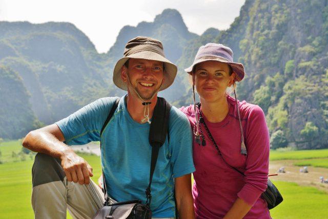Katka a Petr na cestě kolem světa ve Vietnamu