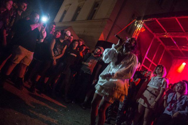 Mykki Blanco na Creepy Teepee 2017