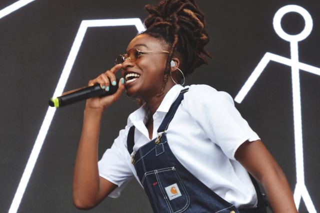 Little Simz na festivalu Splash