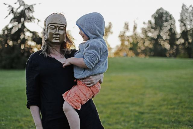 Mateřství - výchova dětí - matka a dítě