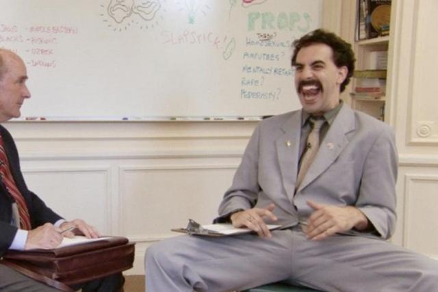 Sacha Baron Cohen ve filmu Borat