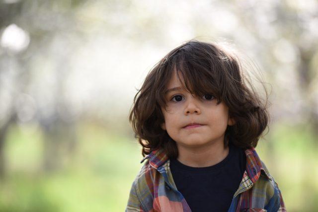 dítě - chlapec