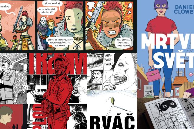 Tři Adolfové, Trumpovy hoaxy i hokejoví rváči s křehkou duší. Nejlepší komiksy roku 2019