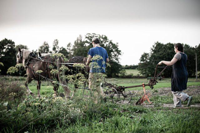 Farma Lukava,  Jana a Martin Rosenbaumovi | foto: Anna Grossmanová