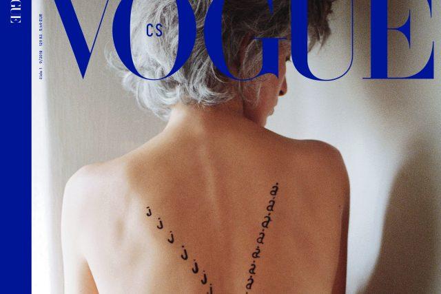 Obálka první československé Vogue je poctou Olze Havlové