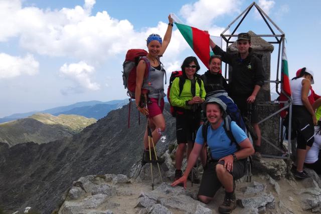 Přechod bulharských hor