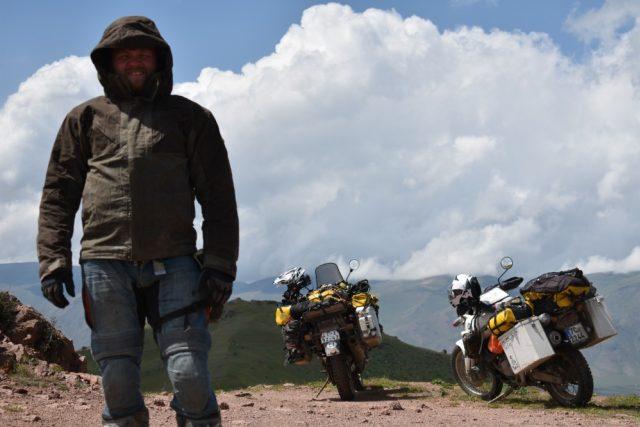 Jan Zajíček a Vojtěch Tůma jeli na motorkách do ruského Magadanu