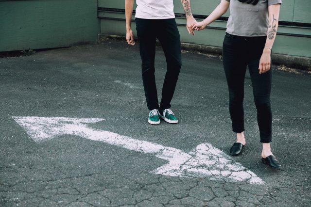 partneři - hádky - životní křižovatky