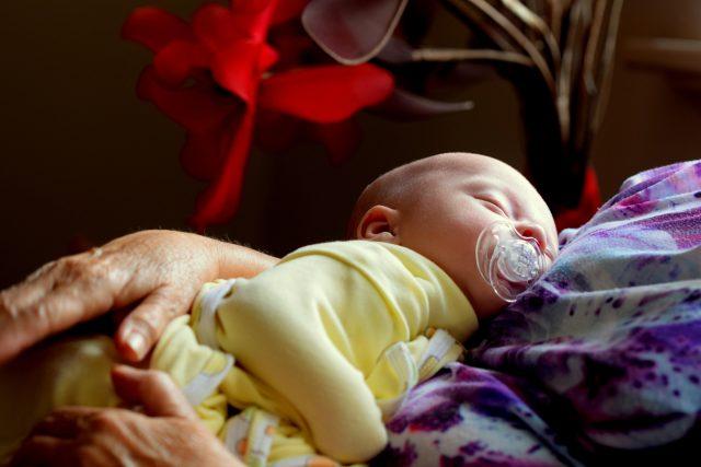 Spánek - spící mimino - miminko