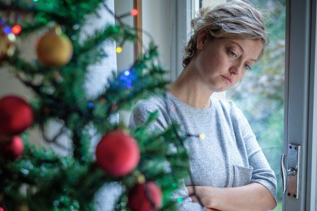 Vánoce; deprese (ilustrační foto)