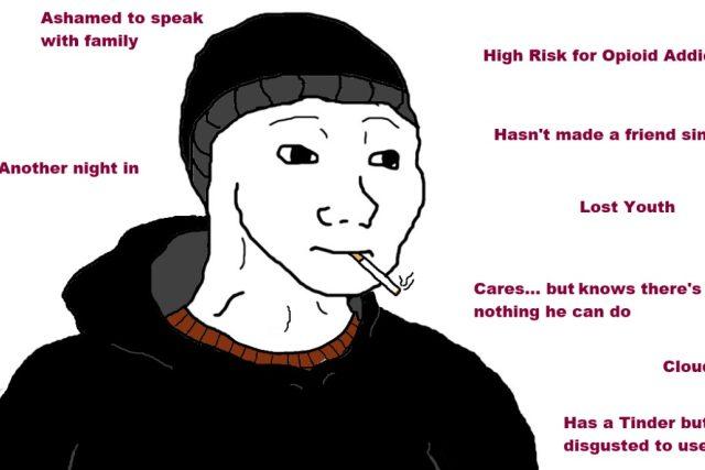 Mem o internetové subkultuře doomerů