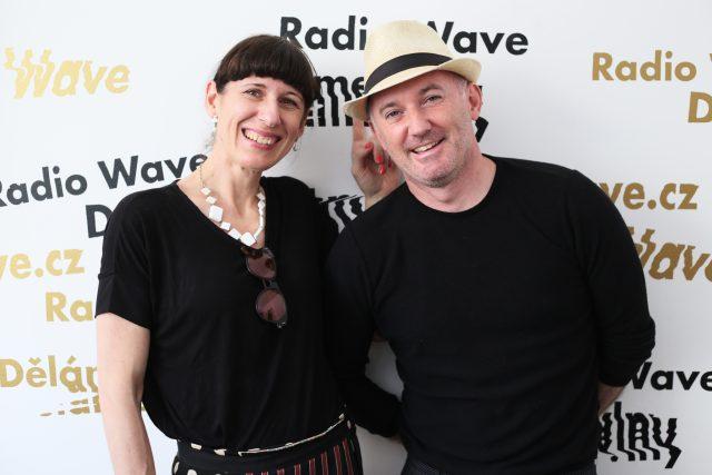 Radka Ondráčková a Martin Barry