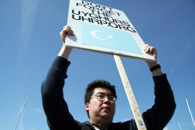 Protesty za osvobození Ujgurů