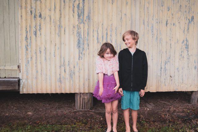 Sourozenci - holka a kluk