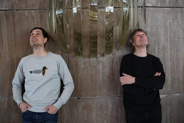 Juraj Smoleň a Dan Merta na Audioportu z Ještědu