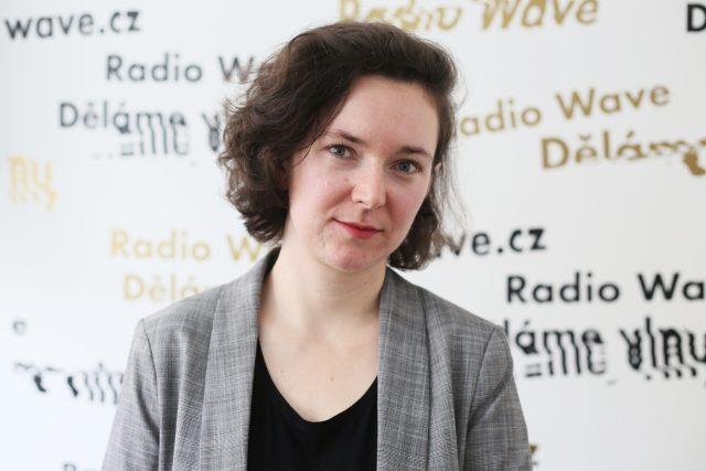 Politoložka Jitka Gelnarová   foto: Barbora Linková,  Český rozhlas