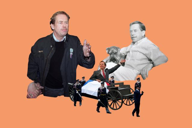 Po sametu: Václav Havel | foto: Jakub Benda,  Profimedia