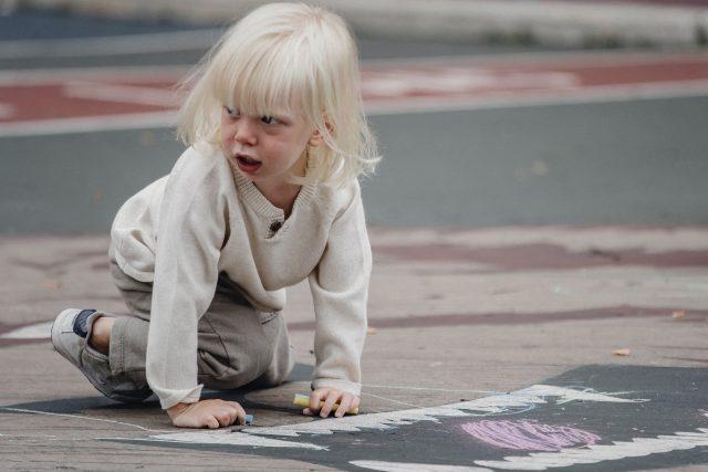 vzteklé -  zlobivé dítě